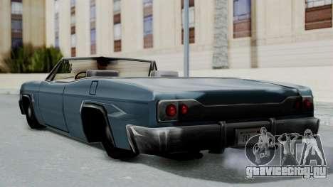 Blade Beach Bug для GTA San Andreas вид справа