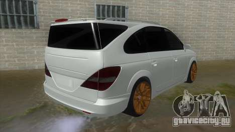SsangYong Rodius 3.2 AT 2007 для GTA San Andreas вид справа