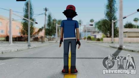 Pokémon XY Series - Ash для GTA San Andreas третий скриншот