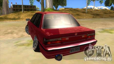 Honda Civic Ef Sedan для GTA San Andreas вид сзади слева