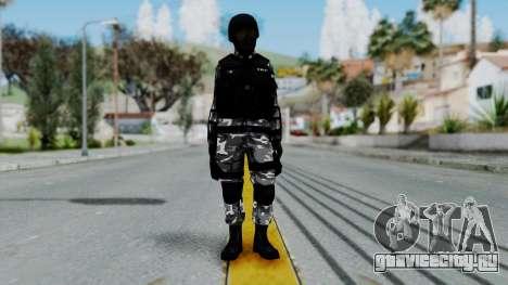 S.W.A.T v1 для GTA San Andreas второй скриншот