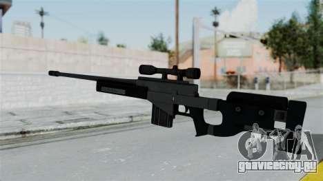 GTA 5 Sniper Rifle для GTA San Andreas второй скриншот