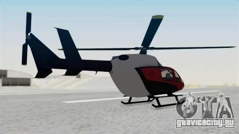GTA 5 Super Volito Carbon для GTA San Andreas вид слева