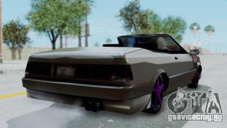 Cadrona Cabrio JDM для GTA San Andreas вид слева