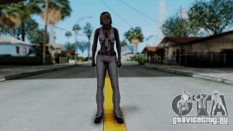 Resident Evil 4 Ultimate HD - Ashley Leather для GTA San Andreas второй скриншот