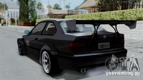 BMW M3 E36 Widebody для GTA San Andreas вид слева