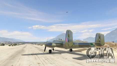 B-25 для GTA 5 третий скриншот