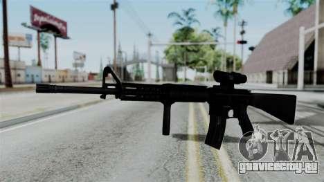 No More Room in Hell - M16A4 ACOG для GTA San Andreas второй скриншот
