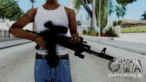 AK-103 OGA для GTA San Andreas третий скриншот
