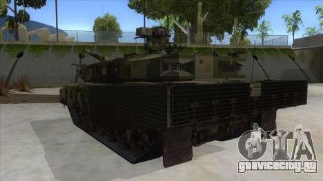 MBT52 Kuma для GTA San Andreas вид сзади слева