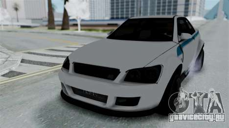 GTA 5 Karin Sultan RS Stock PJ для GTA San Andreas двигатель