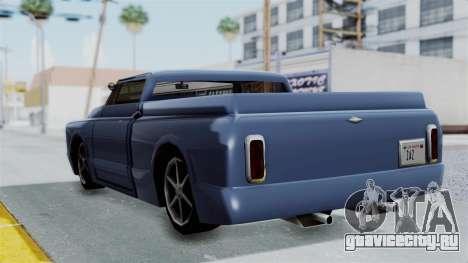 Дополненный Slamvan для GTA San Andreas вид справа