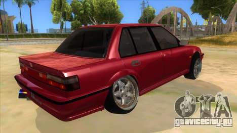Honda Civic Ef Sedan для GTA San Andreas вид справа