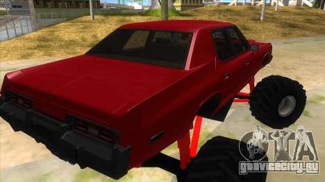 1974 Dodge Monaco Monster Truck для GTA San Andreas вид справа