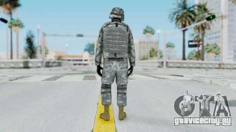 Acu Soldier Balaclava v4 для GTA San Andreas третий скриншот