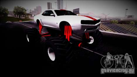GTA 5 Bravado Gauntlet Monster Truck для GTA San Andreas
