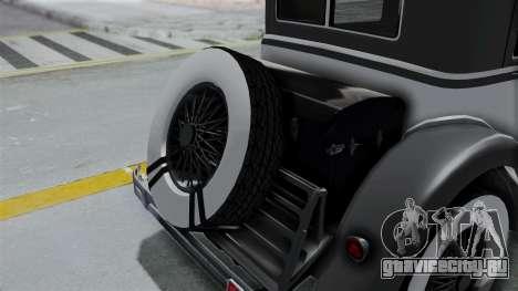 GTA 5 Albany Roosevelt Valor для GTA San Andreas вид сзади