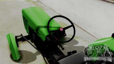 Torpedo Traktor для GTA San Andreas вид сзади слева