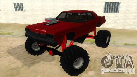 1974 Dodge Monaco Monster Truck для GTA San Andreas