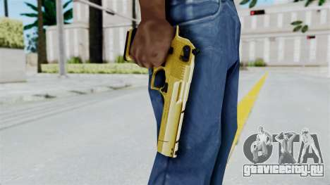 Pouxs Desert Eagle v2 Gold для GTA San Andreas