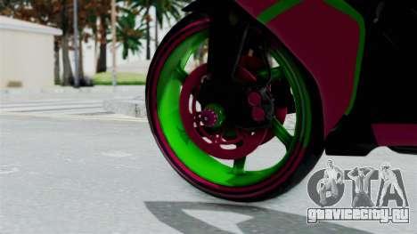 Yamaha R1 для GTA San Andreas вид сзади слева