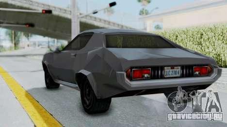 GTA LCS Hellenbach GT для GTA San Andreas вид справа