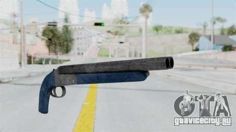 Double Barrel Shotgun LSPD Tint (Lowriders CC) для GTA San Andreas