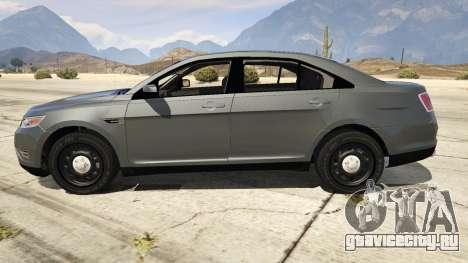Ford Taurus для GTA 5 вид слева