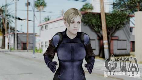 Jill Valentine Battlesuit Closed RE5 для GTA San Andreas