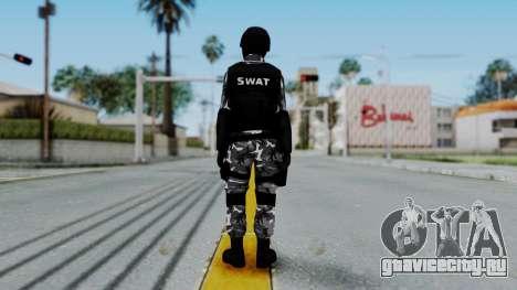 S.W.A.T v1 для GTA San Andreas третий скриншот