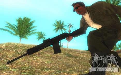 Сайга-12 Gauge для GTA San Andreas третий скриншот