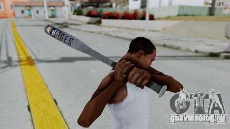 GTA 5 Baseball Bat 6 для GTA San Andreas третий скриншот