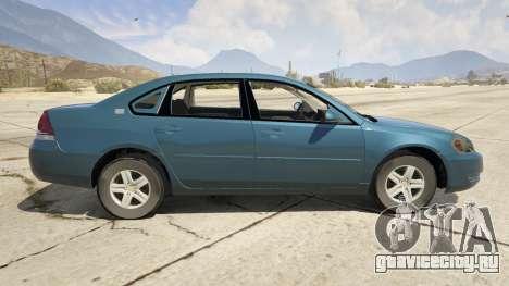 Chevrolet Impala для GTA 5 вид слева