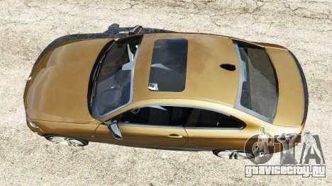 BMW M235i Coupe для GTA 5 вид сзади