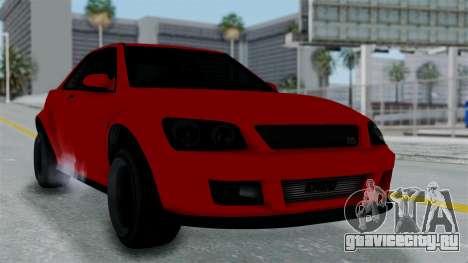 GTA 5 Karin Sultan RS Stock PJ для GTA San Andreas