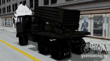 FAP Vojno Vozilo для GTA San Andreas вид слева