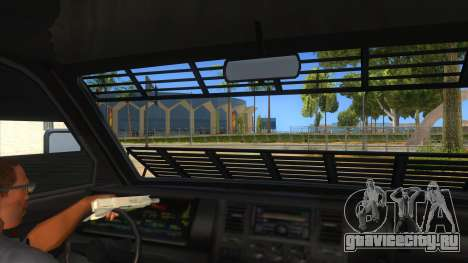 GTA 5 Burrito Transport для GTA San Andreas вид изнутри