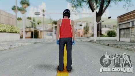 Biker from Hotline Miami для GTA San Andreas третий скриншот