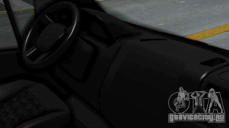 Fiat Ducato Pickup для GTA San Andreas вид справа