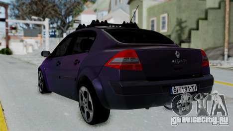 Renault Megane II для GTA San Andreas вид слева