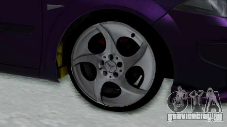 Renault Megane II для GTA San Andreas вид сзади слева
