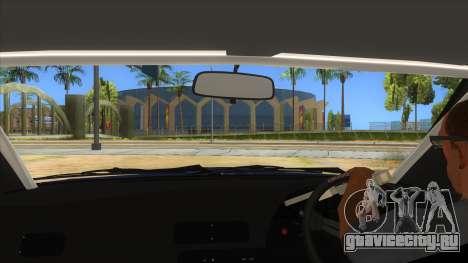 Nissan S13 Zenki для GTA San Andreas вид изнутри
