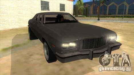 Ford Gran Torino Drag для GTA San Andreas вид сзади