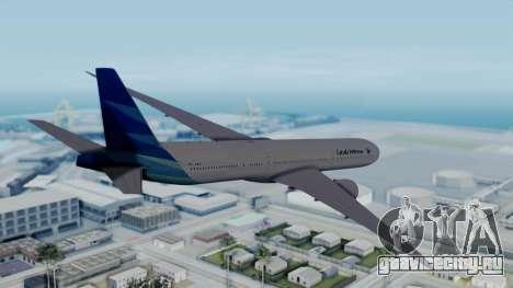 Boeing 777-9U3(X) Garuda Indonesia для GTA San Andreas вид слева