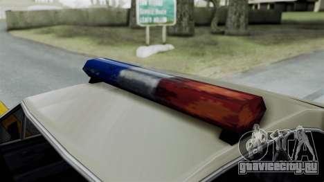 Police Clover для GTA San Andreas вид справа