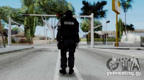 GIGN from Rainbow Six Siege для GTA San Andreas третий скриншот