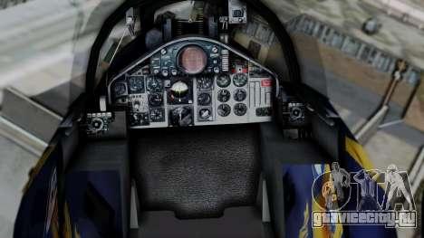 McDonnell Douglas RF-4B Blue Angels для GTA San Andreas вид справа