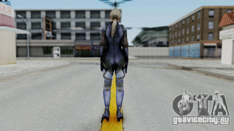 Jill Valentine Battlesuit Closed RE5 для GTA San Andreas третий скриншот