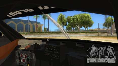 Renault Sport RS 01 INTERCEPTOR для GTA San Andreas вид изнутри