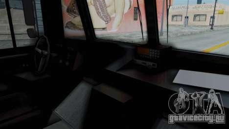 Brute Boxville Laboratorios Humane для GTA San Andreas вид справа